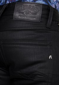 Replay - ANBASS COIN ZIP - Jeans Skinny Fit - black - 4