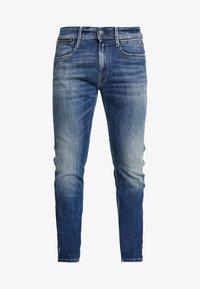 Replay - ANBASS COIN ZIP - Jean slim - medium blue - 3
