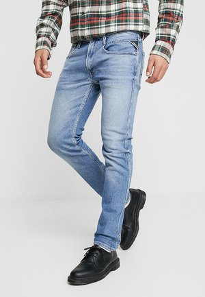 ANBASS - Jeans slim fit - light blue