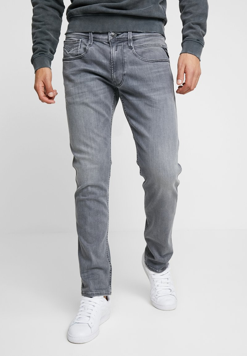 Replay - ANBASS - Jeans Slim Fit - medium grey