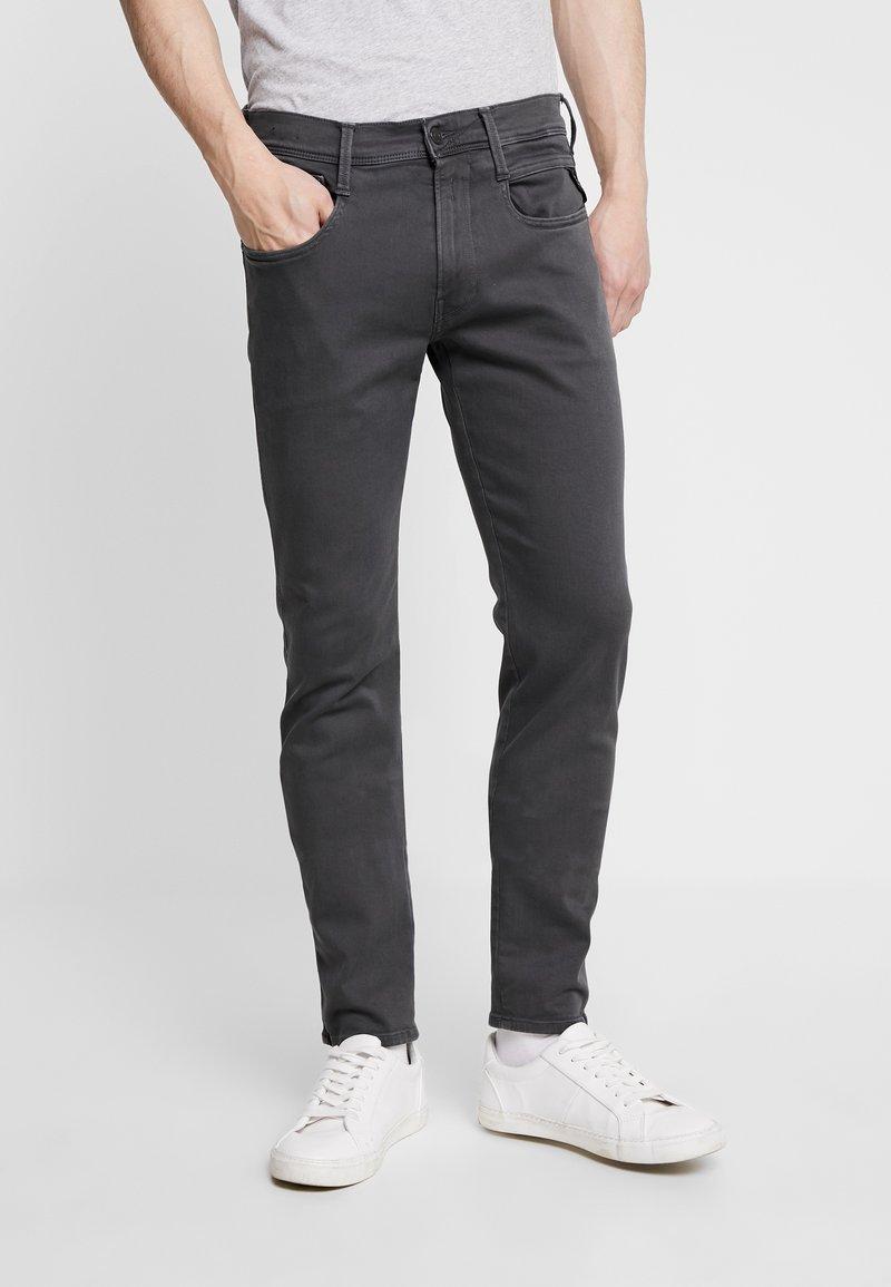Replay - ANBASS HYPERFLEX - Slim fit jeans - blackboard