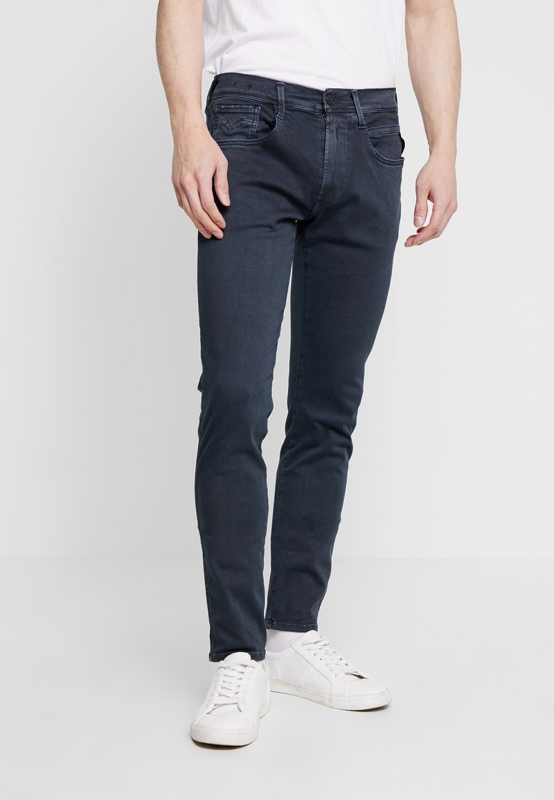 Replay - ANBASS HYPERFLEX - Jeans Slim Fit - blue