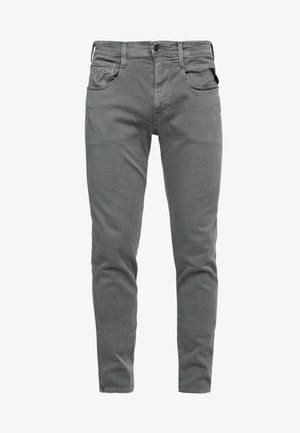 ANBASS HYPERFLEX - Jeans slim fit - military green
