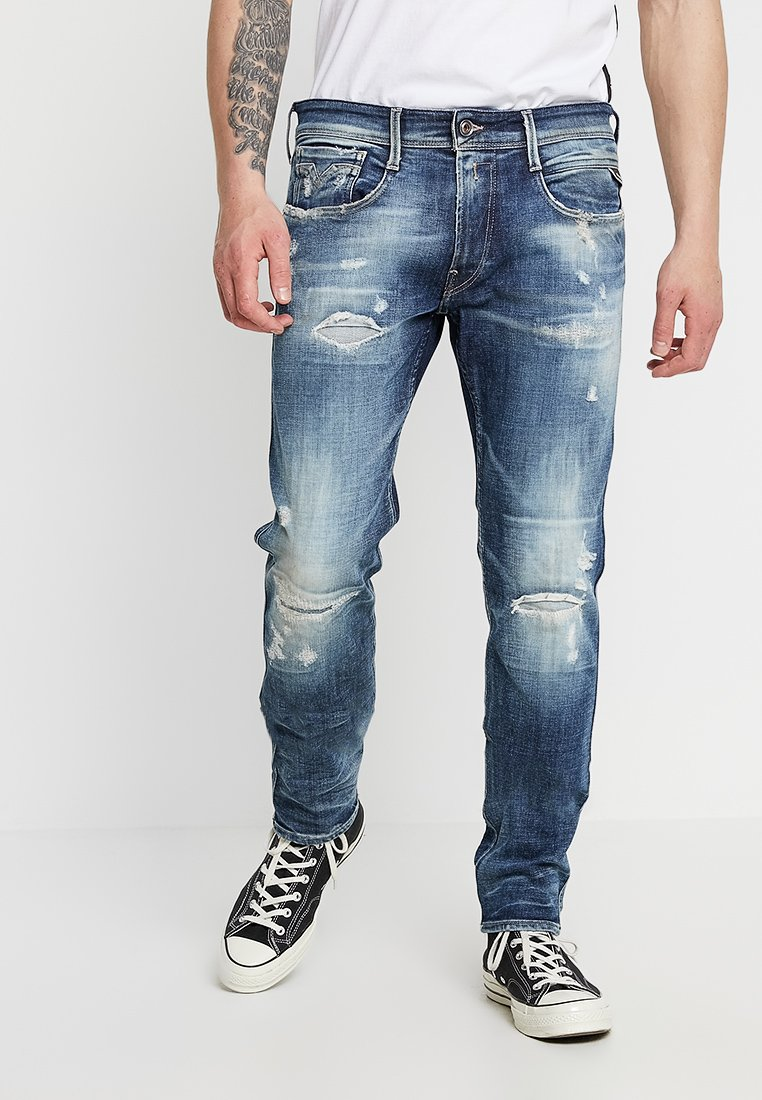Replay - ANBASS - Jeans Slim Fit - medium blue