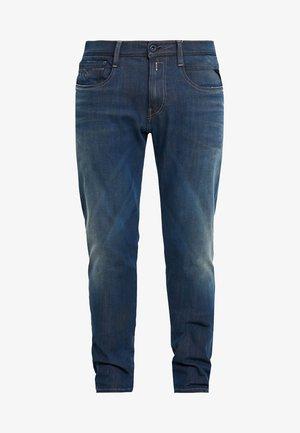 ANBASS HYPERFLEX - Straight leg -farkut - medium blue