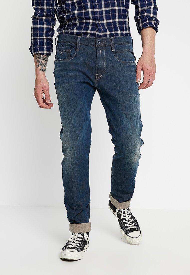 Replay - ANBASS HYPERFLEX - Jeans straight leg - medium blue
