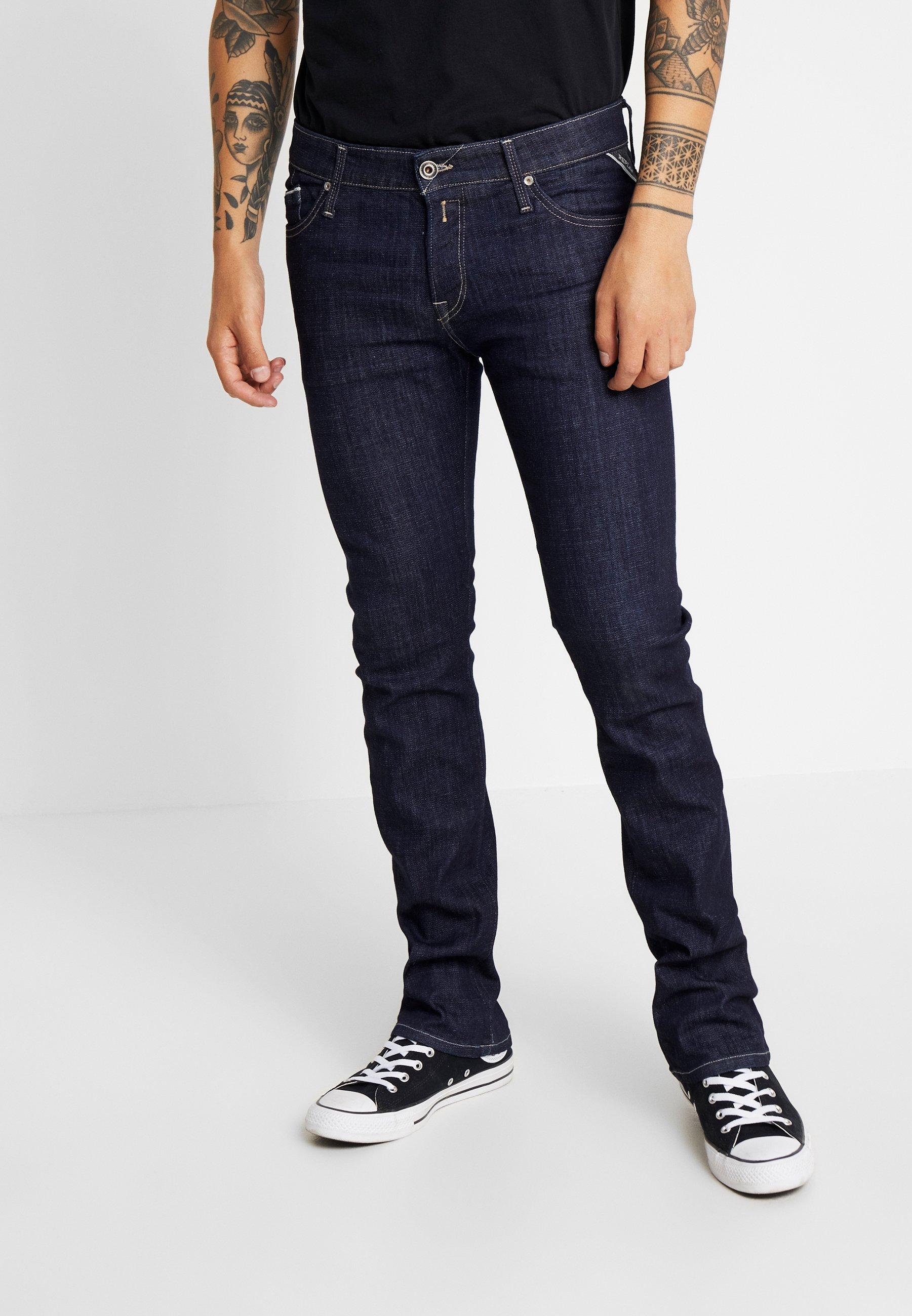 Replay New Jimi - Bootcut Jeans Dark Blue QMxuGpvY IbkdYaEY