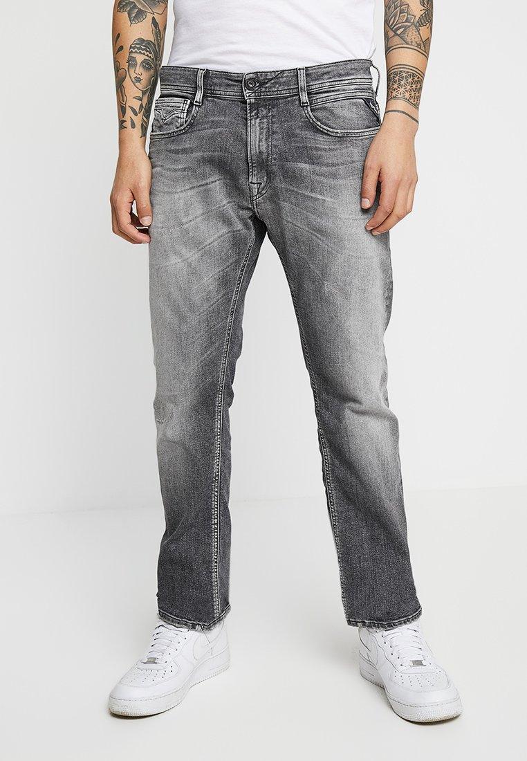 Replay - NEWBILL - Jeans Straight Leg - medium grey