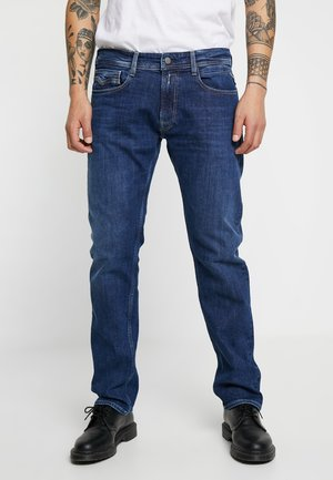 NEWBILL  - Straight leg jeans - medium blue