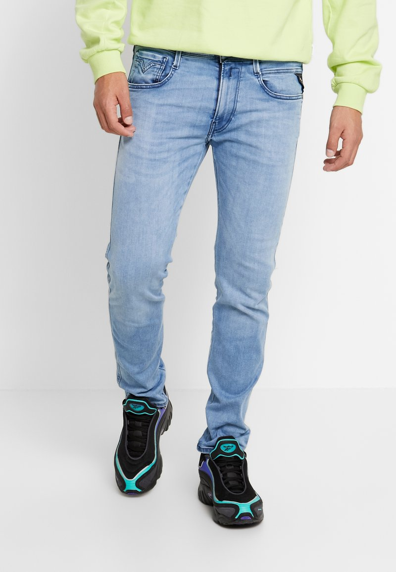 Replay - ANBASS HYPERFLEX CLOUDS - Jeans slim fit - light blue