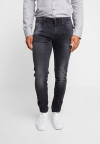 Replay - ANBASS HYPERFLEX - Slim fit jeans - medium grey - 0