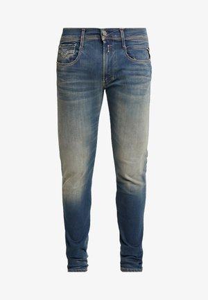 ANBASS HYPERFLEX - Jean slim - dark blue