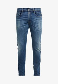 Replay - ANBASS HYPERFLEX BIO - Slim fit jeans - medium blue - 4