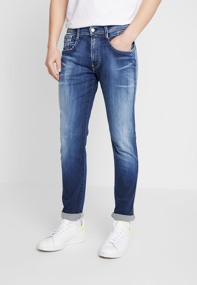 ANBASS HYPERFLEX - Jeans Slim Fit - dark blue