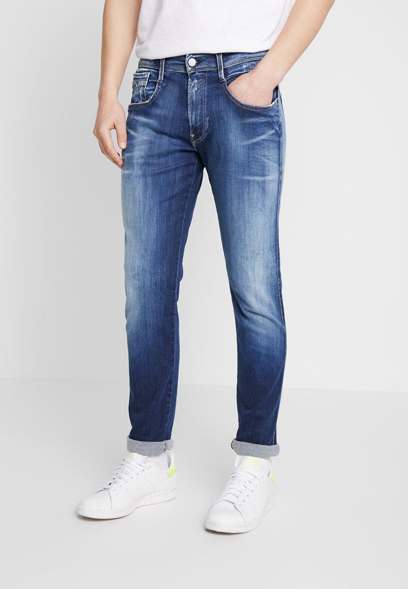 Replay - ANBASS HYPERFLEX - Slim fit jeans - dark blue