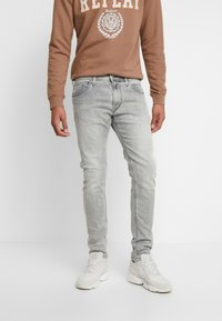Replay - JONDRILL - Slim fit -farkut - medium grey - 0