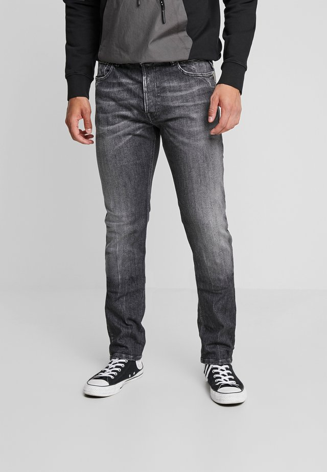DONNY - Jeans Tapered Fit - dark grey