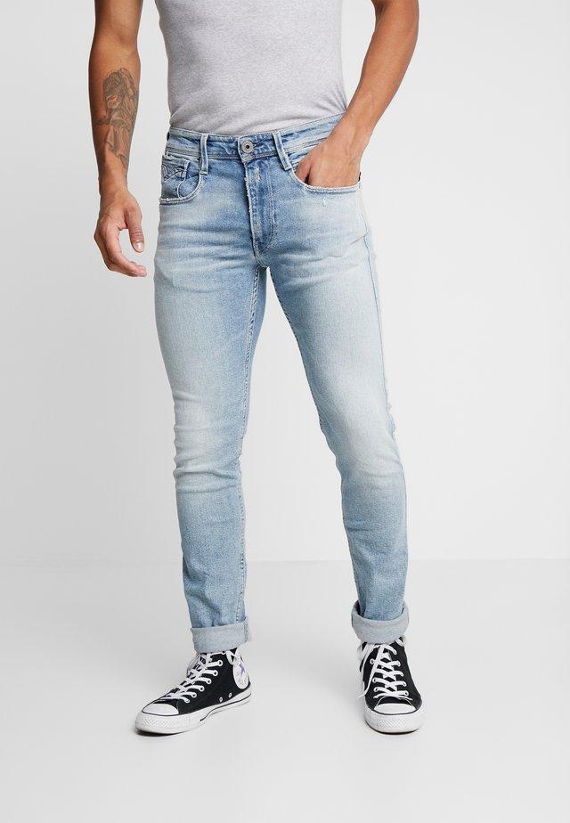 ANBASS - Slim fit jeans - light blue