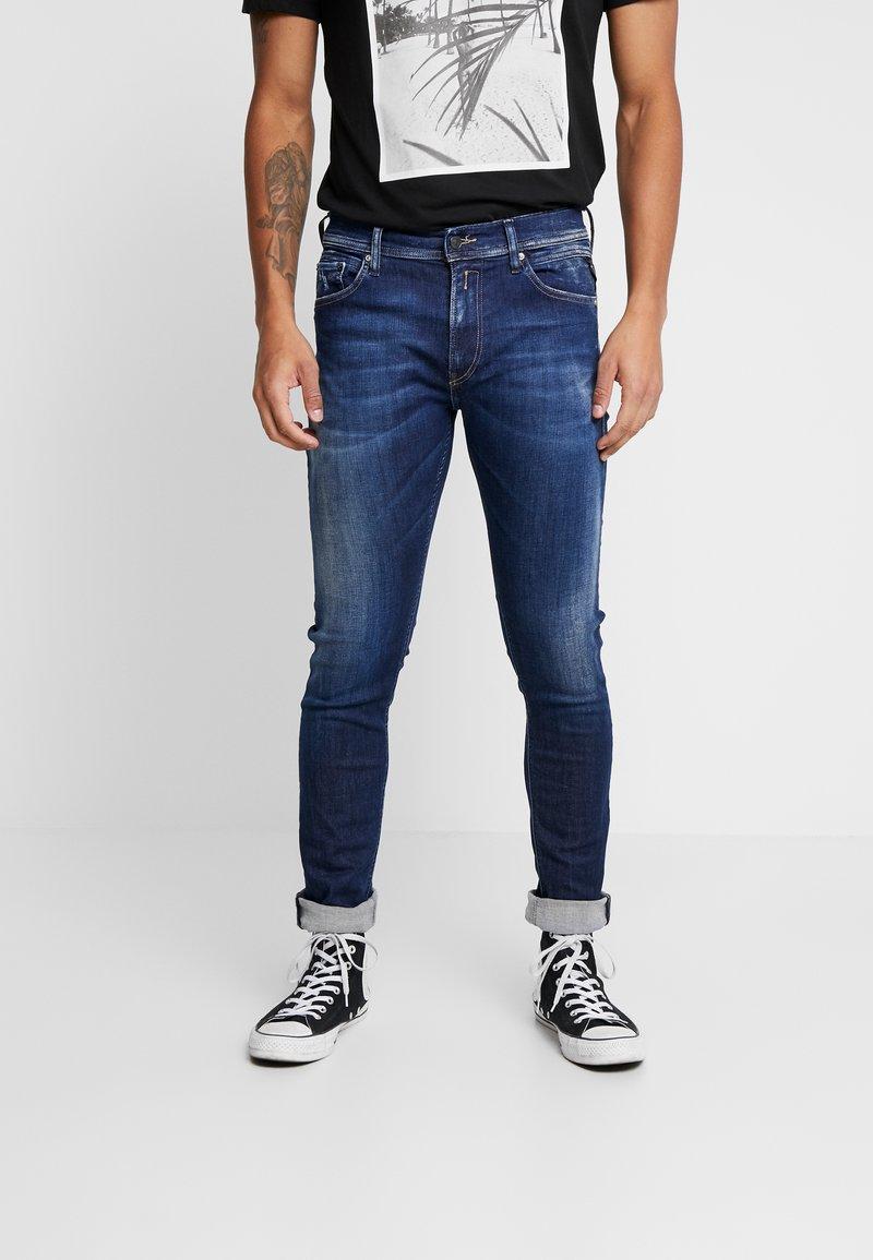 Replay - JONDRILL - Slim fit jeans - dark blue