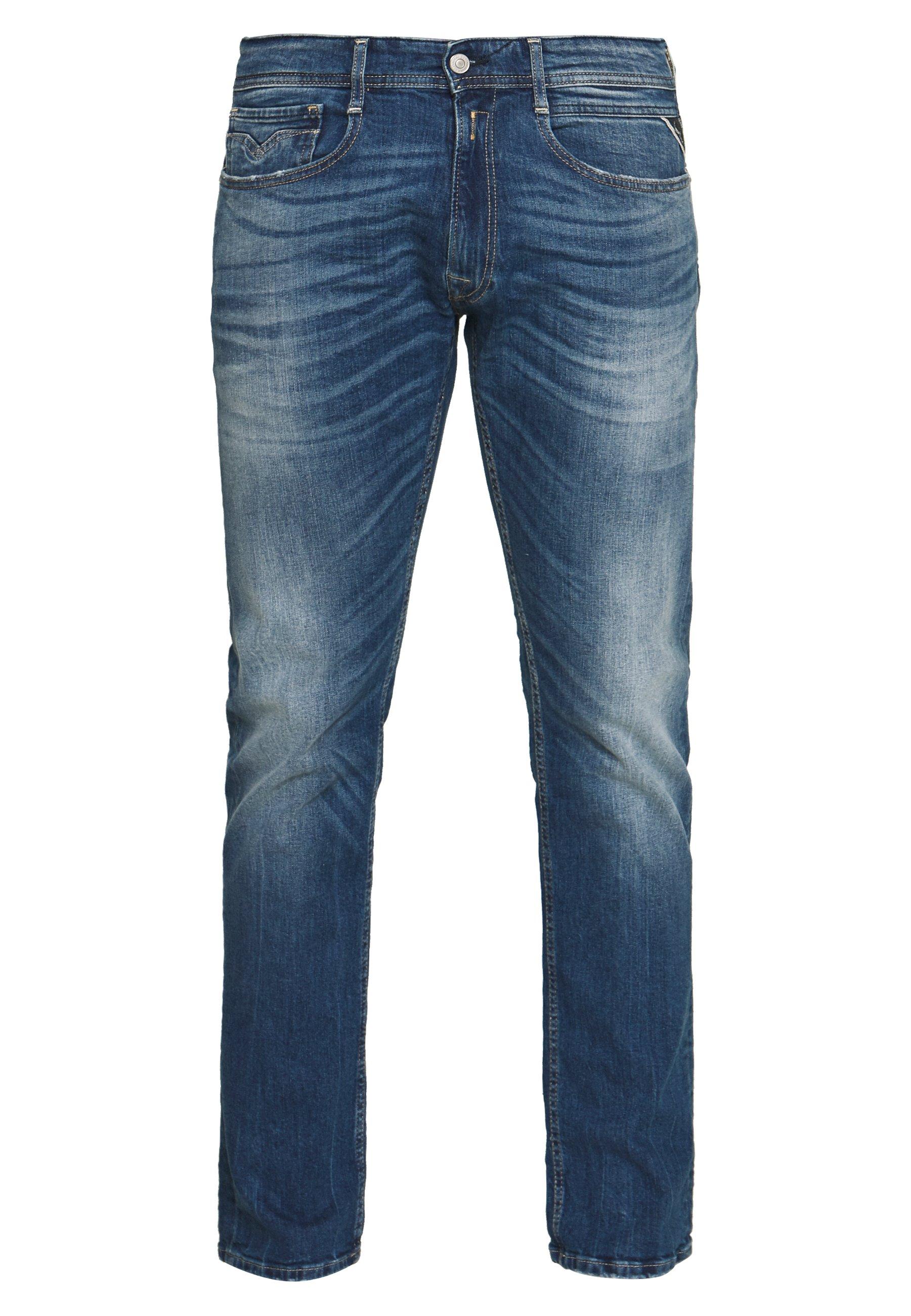Replay ROCCO - Jeans a sigaretta - dark blue