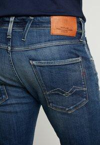 Replay - ANBASS - Jeans slim fit - dark blue - 5
