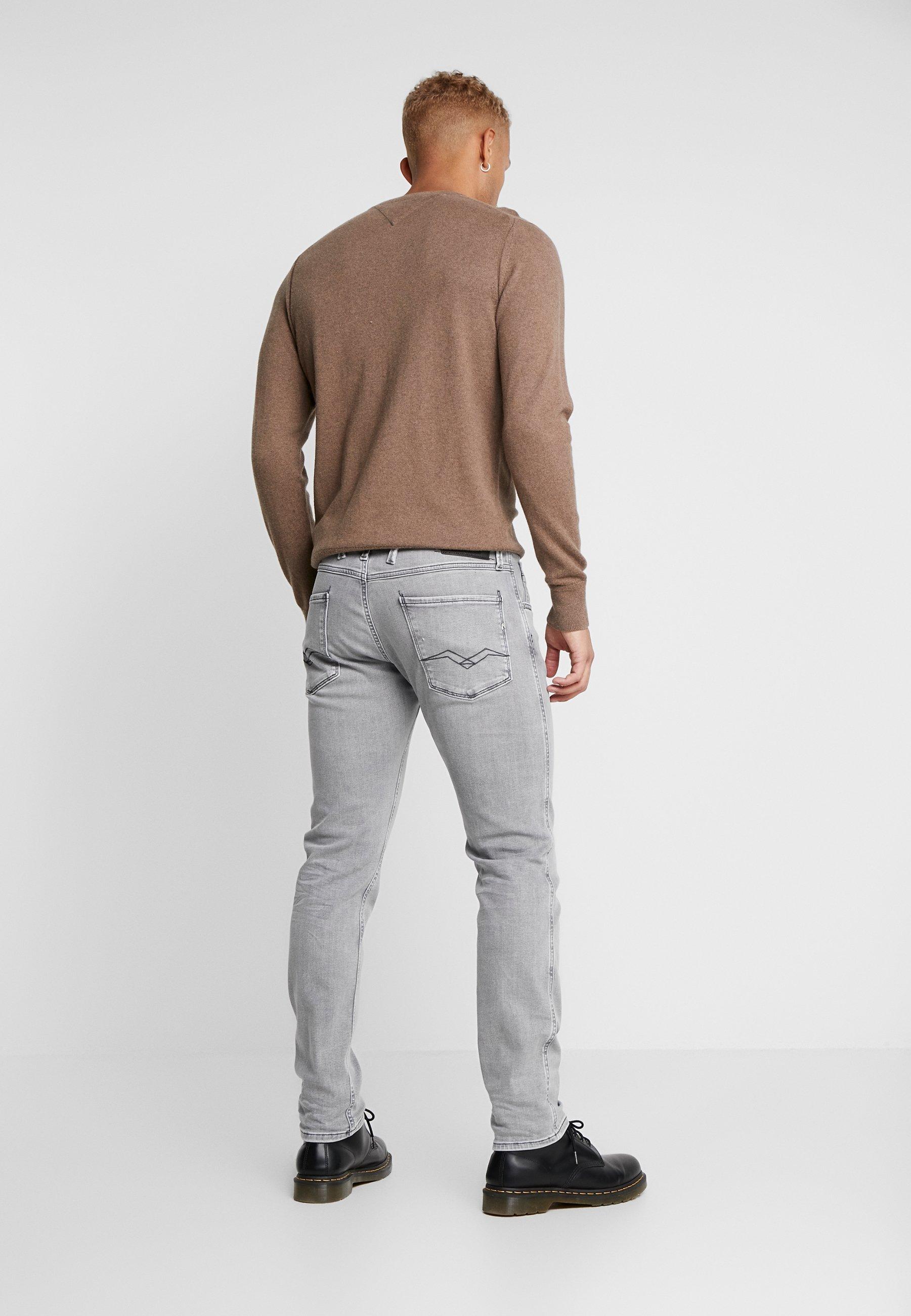 Replay Anbass - Slim Fit Jeans Medium Grey 3Pgch1E