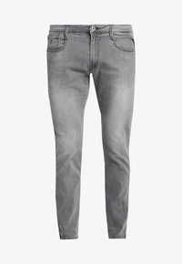 Replay - ANBASS - Jeans slim fit - dark grey - 4