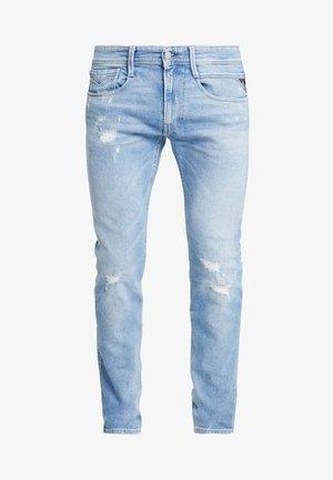 ANBASS - Vaqueros slim fit - light blue