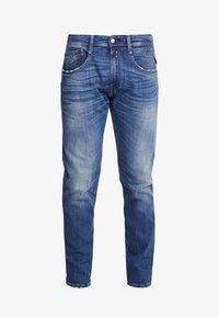 Replay - ANBASS - Jeans a sigaretta - dark blue - 4