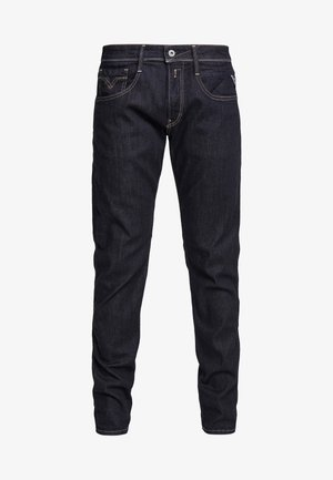 ANBASS - Vaqueros slim fit - dark blue