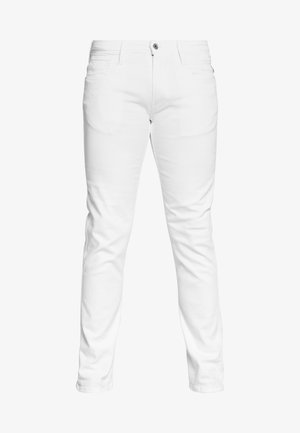 ANBASS - Jean slim - white