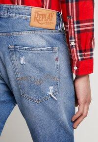 Replay - TINMAR - Straight leg jeans - medium blue - 3