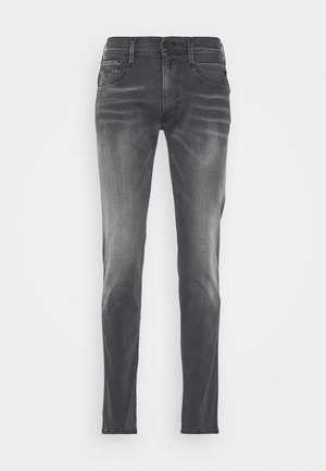 ANBASS HYPERFLEX - Jean slim - dark grey