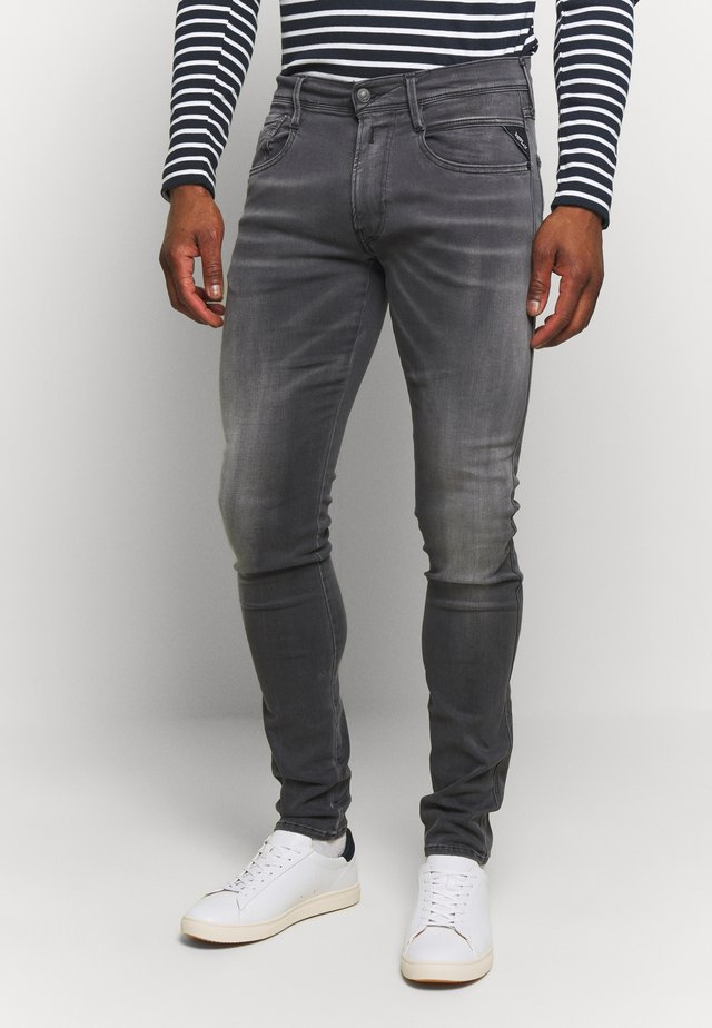 ANBASS HYPERFLEX - Jeans Slim Fit - dark grey