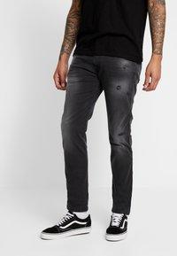 Replay - ANBASS HYPERFLEX - Jeans Slim Fit - dark grey - 0