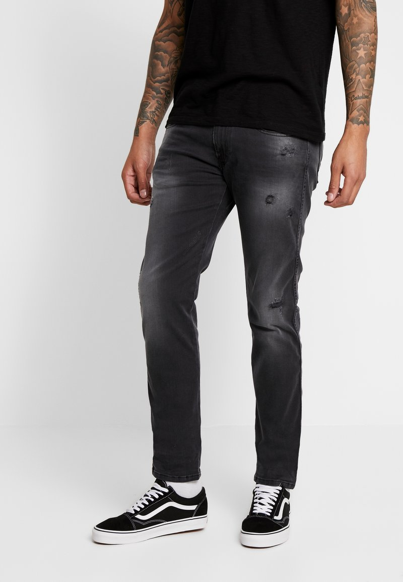 Replay - ANBASS HYPERFLEX - Jeans Slim Fit - dark grey