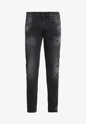 ANBASS HYPERFLEX - Slim fit jeans - dark grey