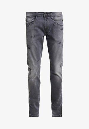 ANBASS HYPERFLEX - Jeans slim fit - light grey