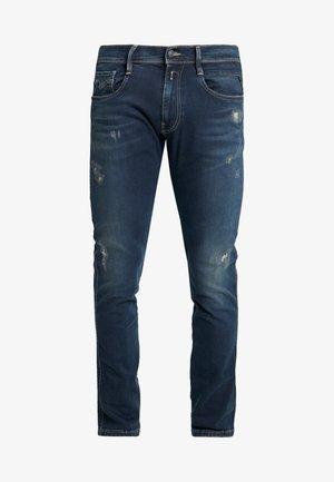 ANBASS HYPERFLEX - Slim fit jeans - dark blue