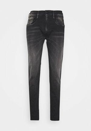 ANBASS - Jean slim - black