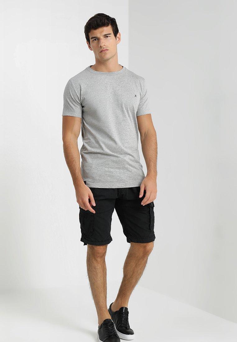 Replay - 2 PACK - Basic T-shirt - grey melange