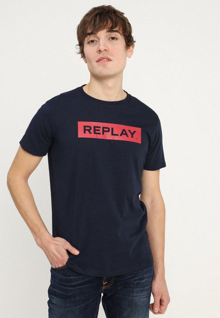 Replay - Camiseta estampada - dark blue