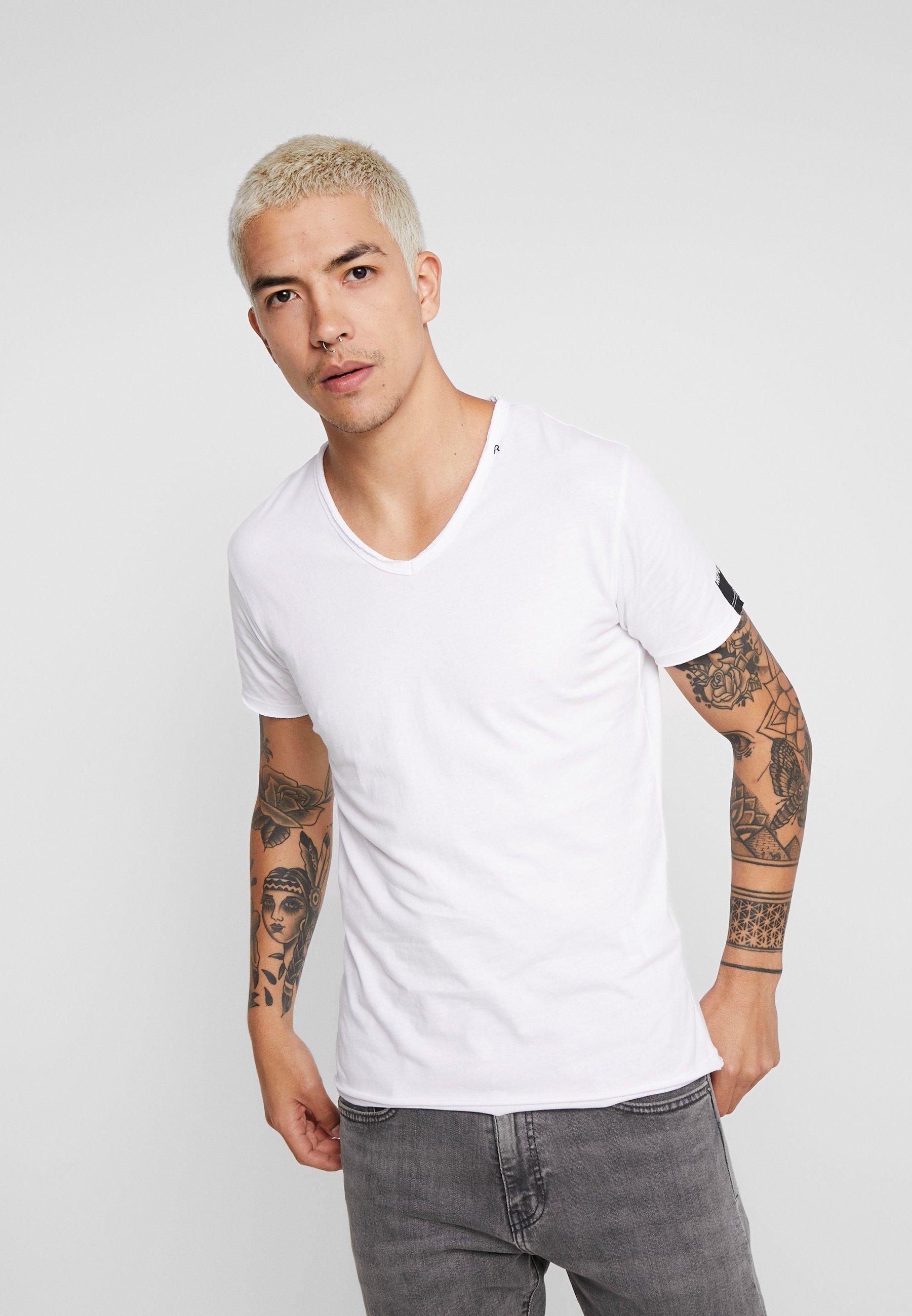T shirt shirt T BasiqueWhite Replay BasiqueWhite Replay Replay vmNn80wO