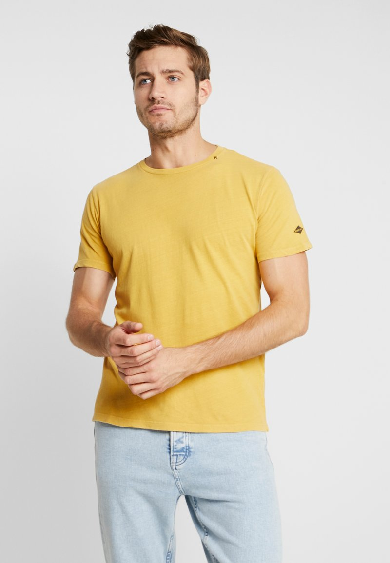 Replay - T-Shirt basic - yellow vintage