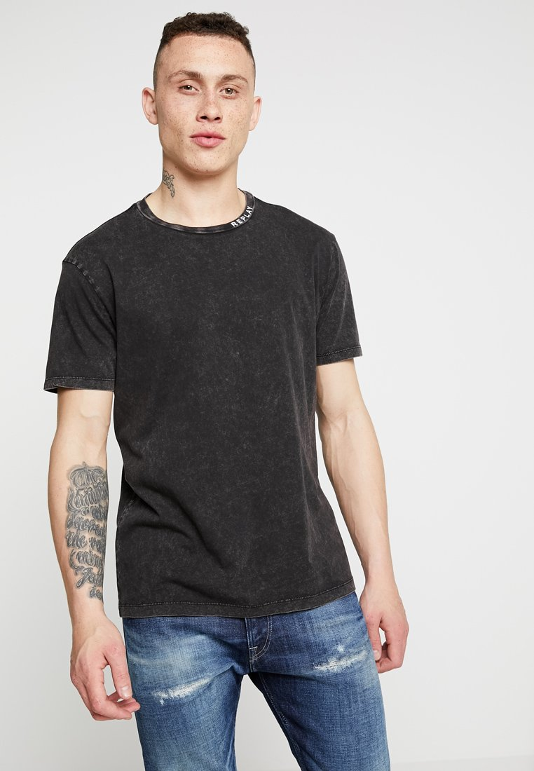 Replay - T-Shirt basic - blackboard