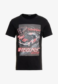 Replay - T-shirts med print - black - 3