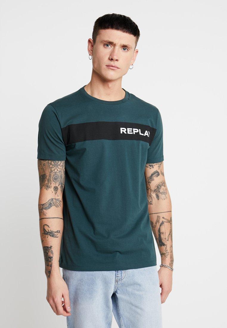 Replay - T-Shirt print - dark green