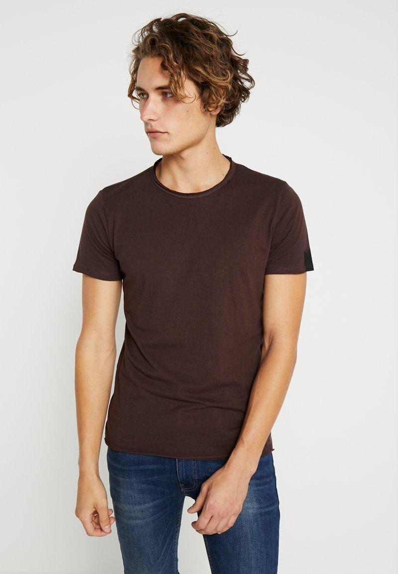 Replay - T-Shirt basic - plum