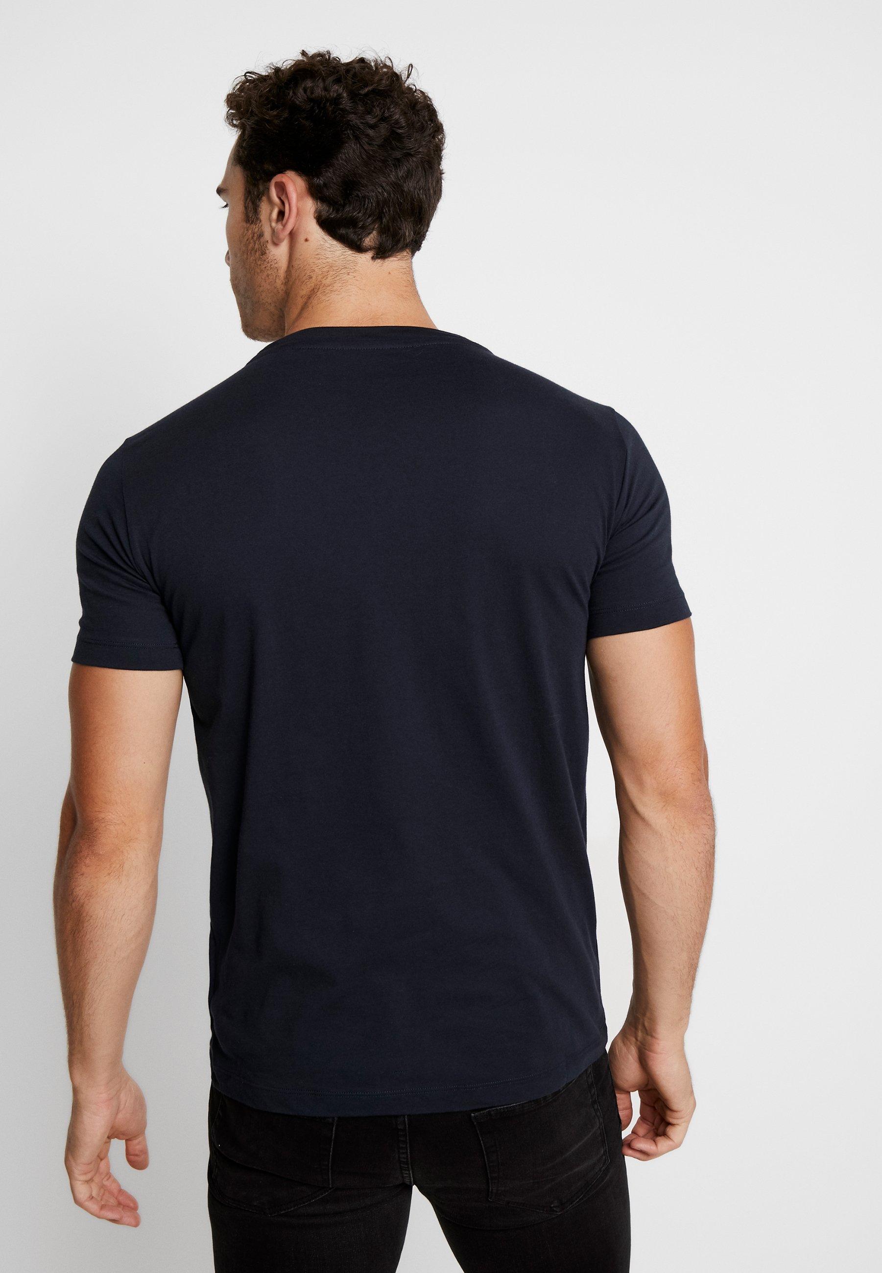 Replay Navy Basique PackT 2 shirt k8wPXn0O