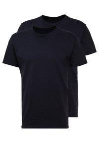 Replay - 2 PACK - T-shirt basic - navy - 0